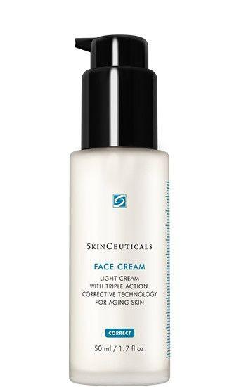 FACE CREAM Легкий крем для нормальной и жирной кожи с признаками старения, 50мл