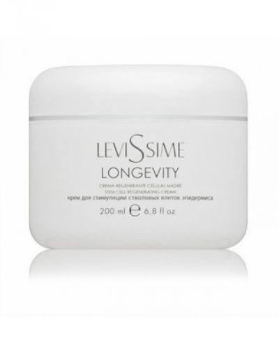 Крем для стимуляции стволовых клеток эпидермиса LeviSsime Longevity Cream, SPF 15, рН 6,5-7,0, 200 мл