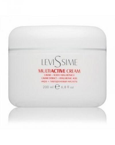 Крем «Мультиактив» с экстрактом икры LeviSsime Multiactive Cream, SPF 5, рН 6,8-7,2, 200 мл