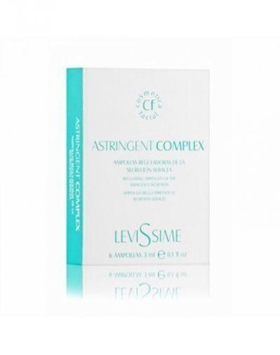 Комплекс для проблемной кожи LeviSsime Astringen Complex, рН 7,0-7,5, 6 шт по 3 мл