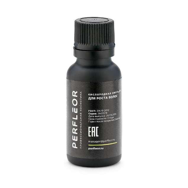 Кислородная эмульсия для роста волос №2, 50мл Perfleor