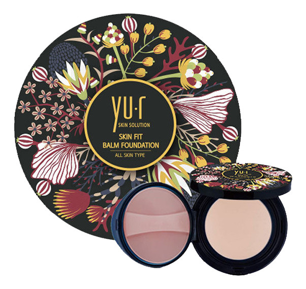 YU.R Выравнивающая основа-бальзам для лица Skin Fit Balm Foundation 25г