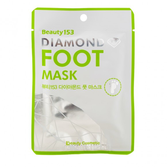 МАСКА ДЛЯ НОГ BEAUTY153 DIAMOND FOOT MASK, 1 ШТ